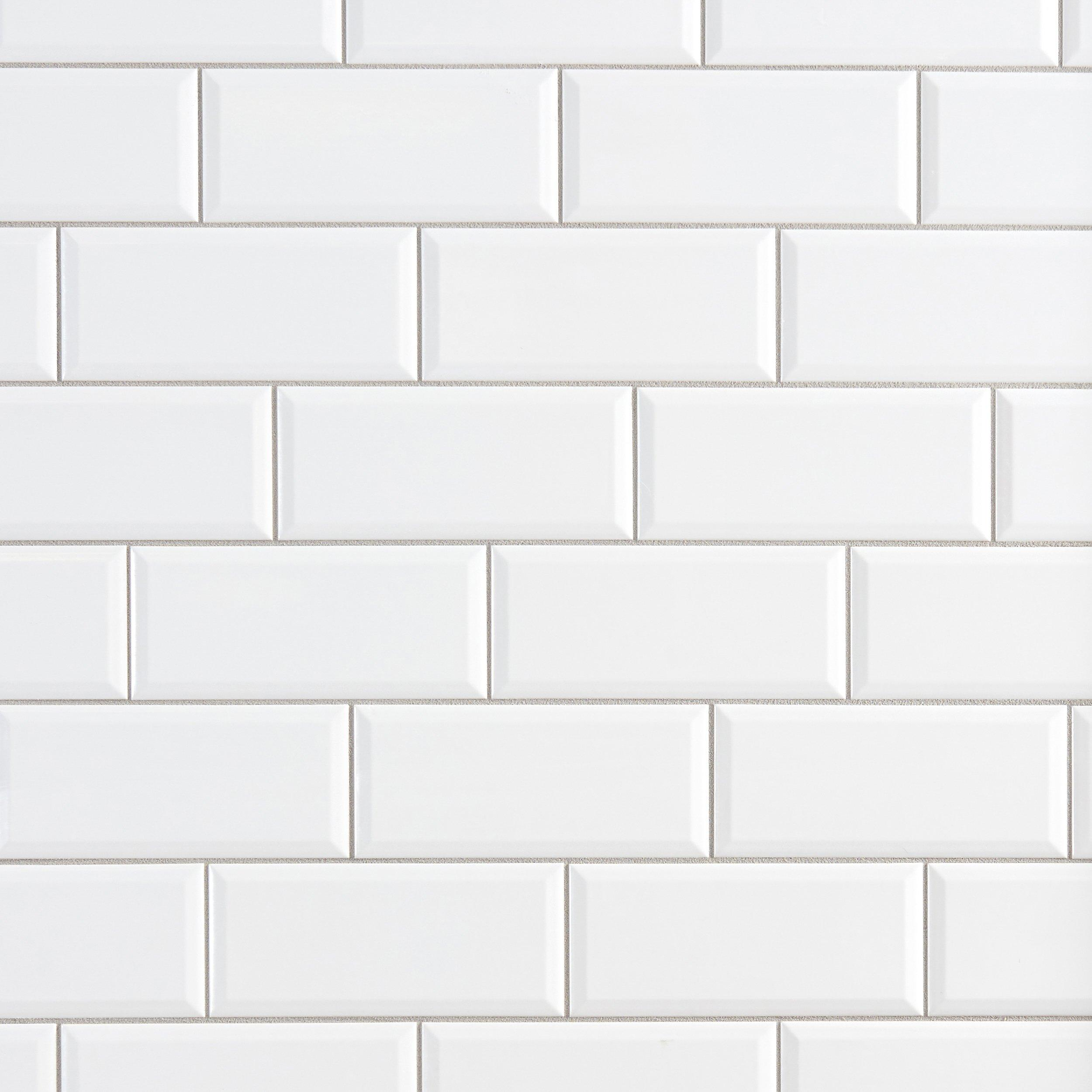 bright white ice ceramic wall tile 4