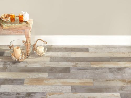 avalon pier multi color wood plank