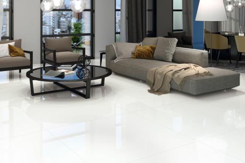 blanco polished porcelain tile 48 x