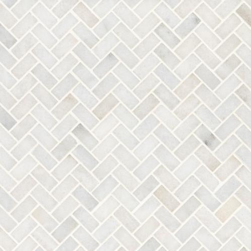 https www flooranddecor com marble decoratives carrara chateau herringbone honed marble mosaic 100701929 html