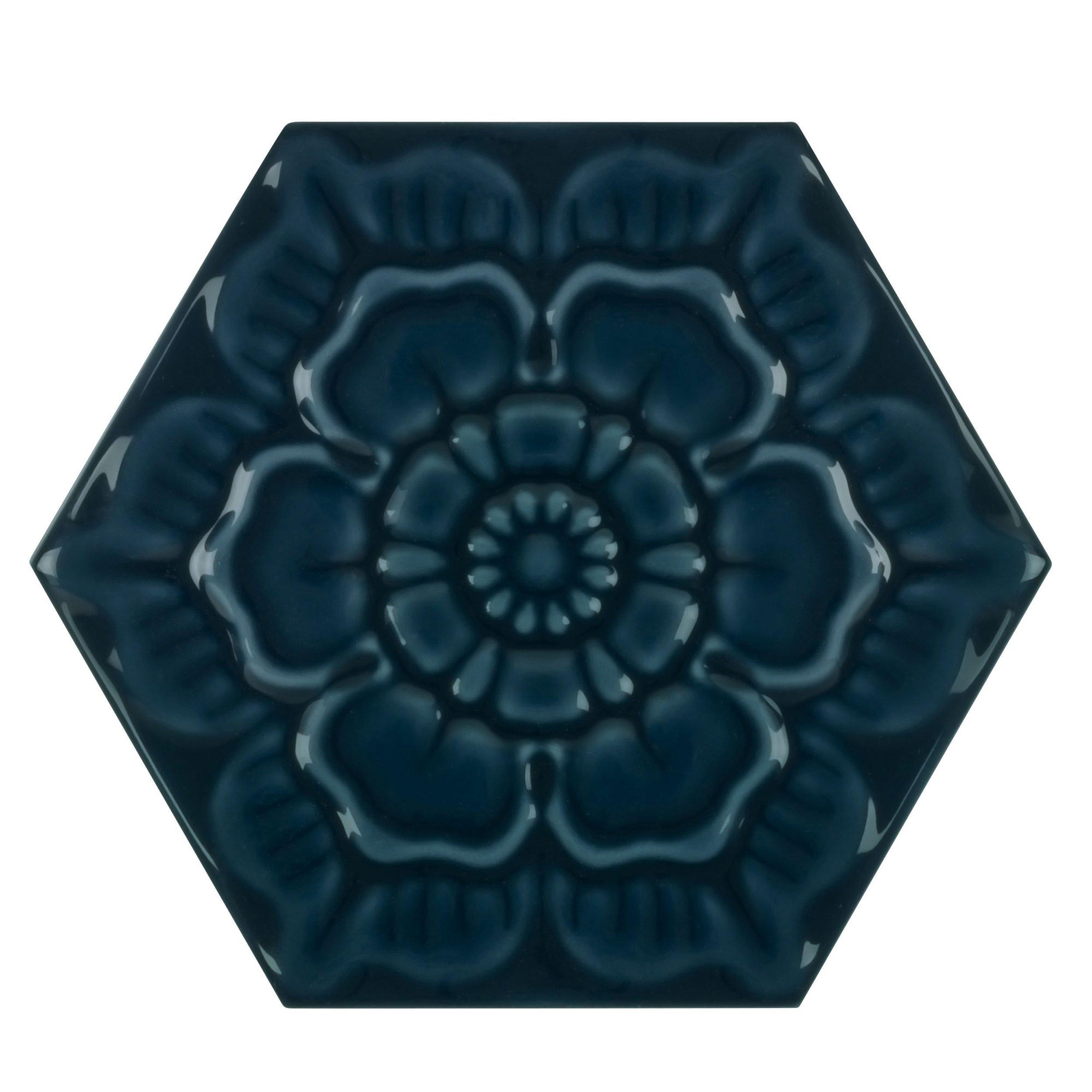 patina lagoon polished porcelain tile