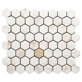 hexagon tile floor decor