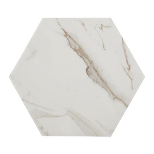 hexagon porcelain wall tile