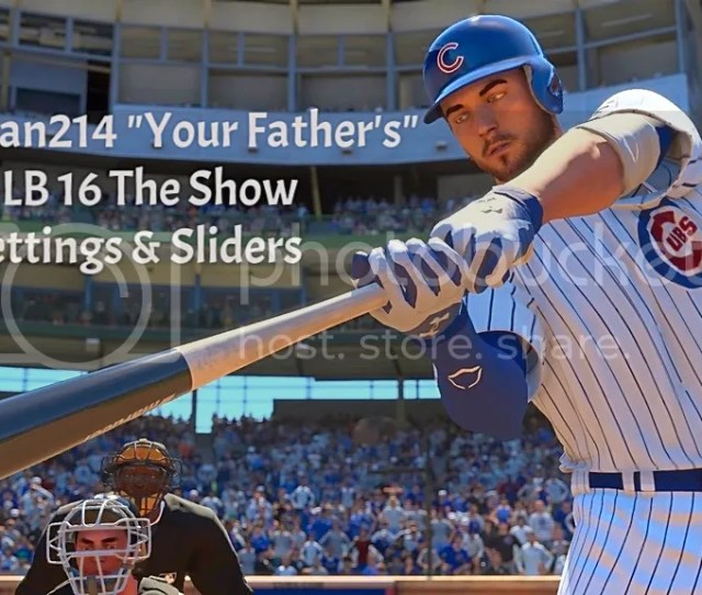 Huskerfan214 Your Fathers Mlb 16 The Show Settings Sliders