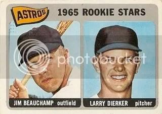 #409 Astros Rookie Stars: Jim Beauchamp and Larry Dierker photo housrooks.jpg