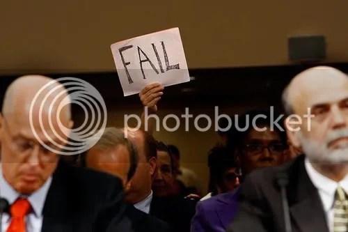 Paulson Bernanke Fail