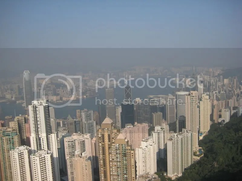 Victoria Harbour - View from the Peak