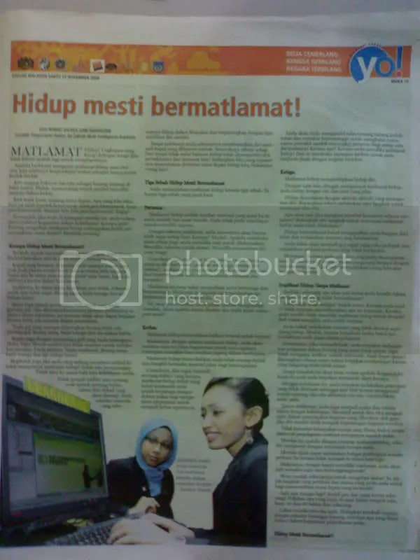 Utusan Malaysia, 14 Nov 08