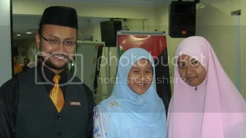 Me, My Lovely Wife and Impressive Madihah!