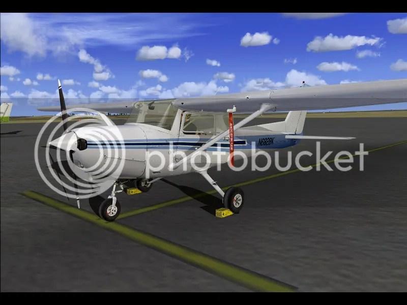 Exterior de la Cessna