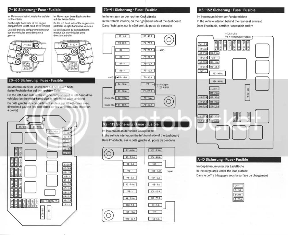 2002 C230 Kompressor Fuse Chart  blinker turn signal