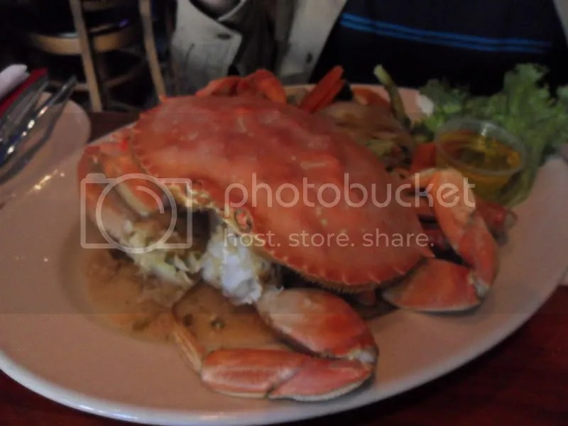 Garlic Dungeness Crab