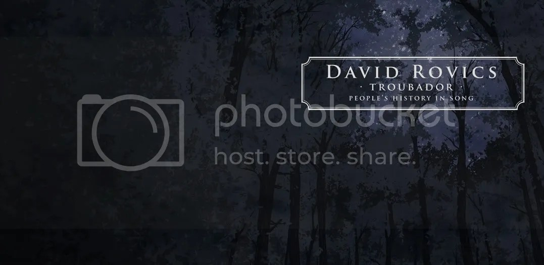 david rovics - troubador