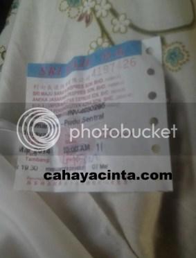 Tiket bas Amanjaya-Pudu Sentral