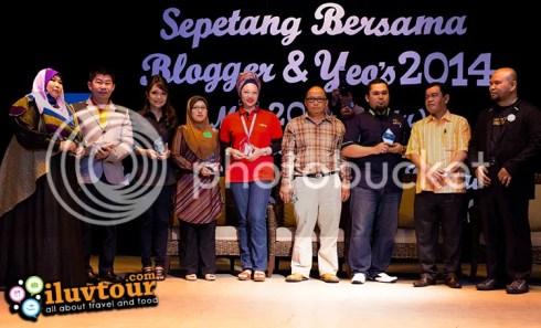 Penaja sepetang bersama blogger & yeo's 2014