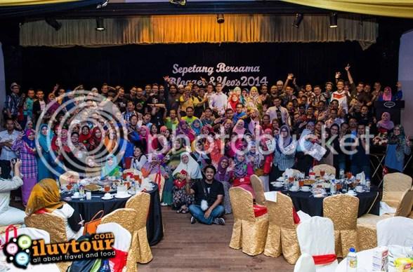 Majlis Sepetang Bersama Blogger & Yeo's 2014 - BERJAYA