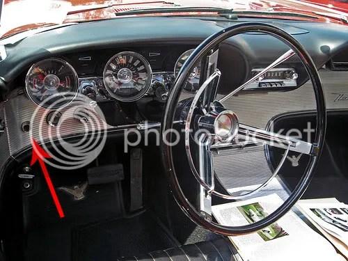 1961 63 Thunderbird Dash Question The HAMB