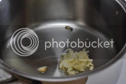 Quinoa Pilaf - Add garlic