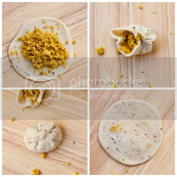 Daal Poori - Step by Step