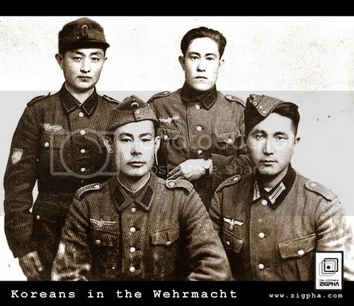 Koreans in the wehrmacht