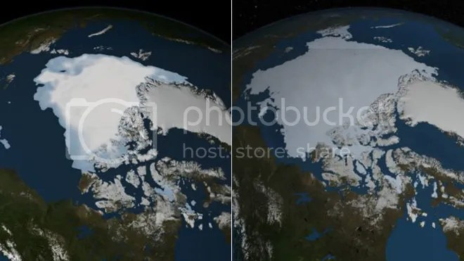 2012 - 2013 arctic ice sheet