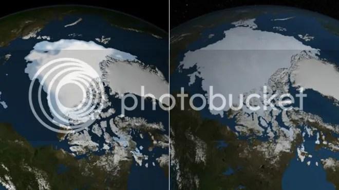2012 - 2013 arctic ice sheet