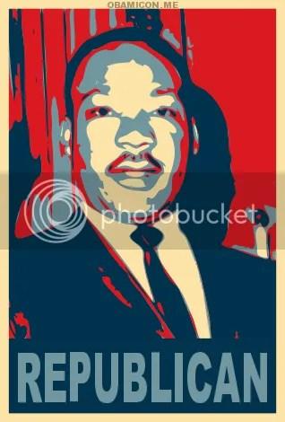 MLK, Jr.: lifelong Republican