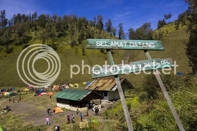 Tempat perkemahan Ranu Kumbolo, Gunung Semeru