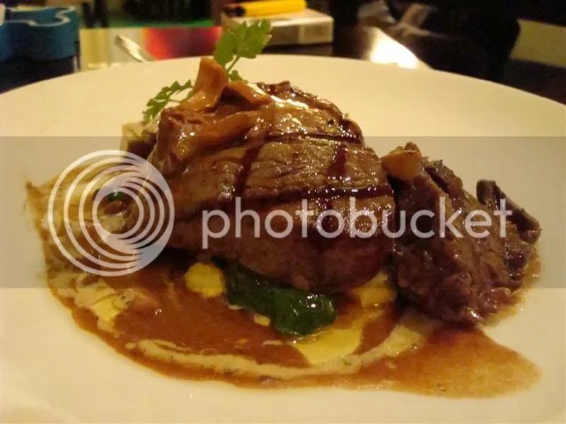 Wagyu Beef Tenderloin and Braised Beef Cheeks