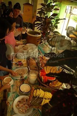 boracay regency cafe cristina buffet breakfast