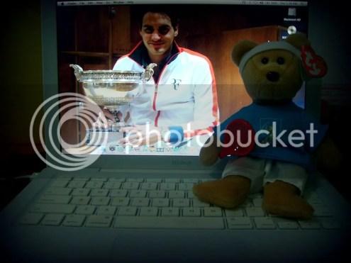 Roger Federer Beanie Baby, Federbear