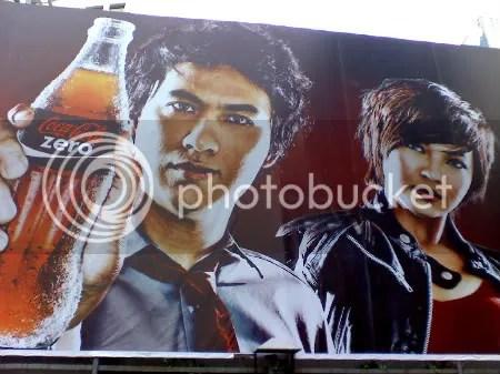 Ely Buendia Coke Zero billboard