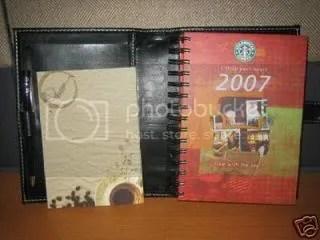 starbucks 2007 planner