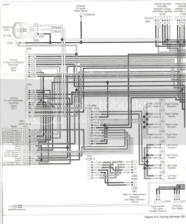 Harley Radio Wiring Diagram | hobbiesxstyle on