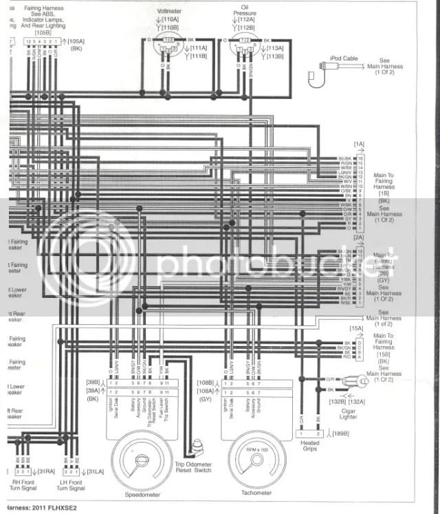 2010 harley radio wiring diagram