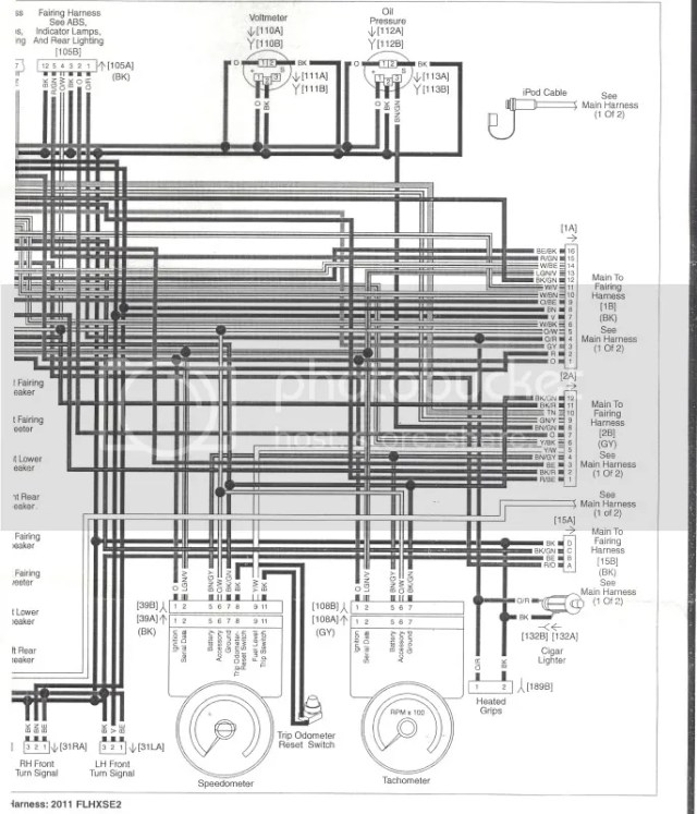 2005 Harley Davidson Radio Wiring Diagram | hobbiesxstyle on
