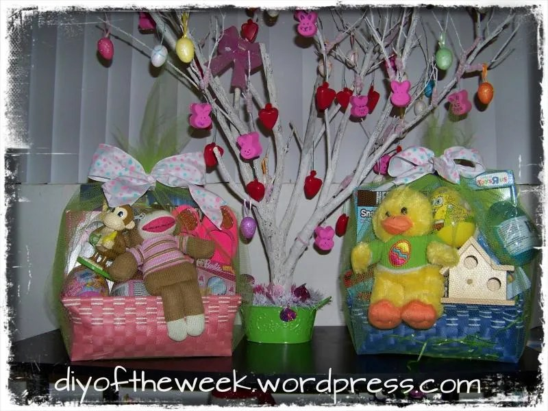 diy easter wrap