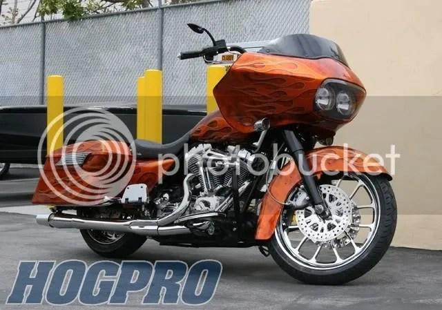 Orange Road Glide Custom Paint Jobs