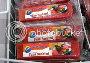 tuna sashimi bars