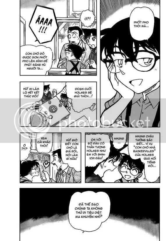 Conan  Chapter 734