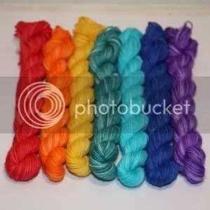 mini skein set - rainbow