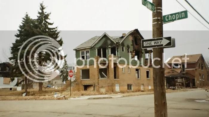 Reject your political party: Detroit slum