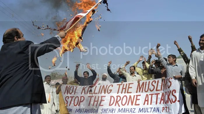 Reject your political party: Drone protest