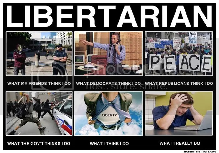 What libertarians do