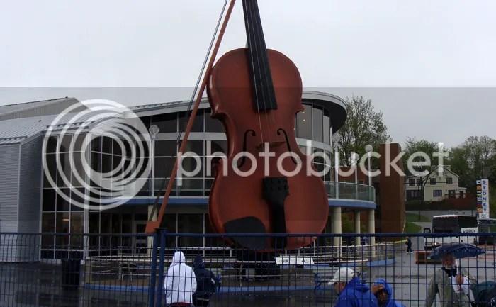 Violin at Sydney