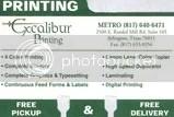 Excalibur Printing