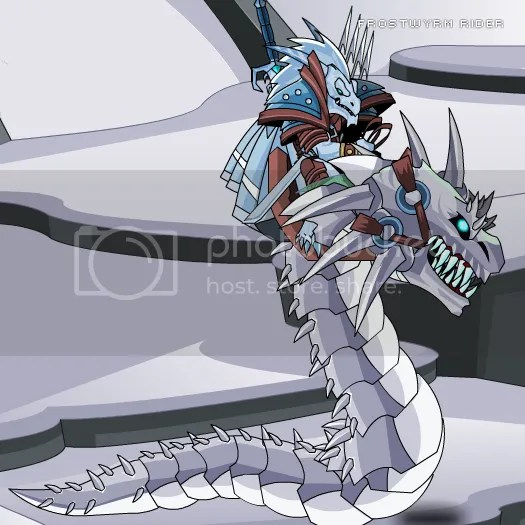 Frostwyrm Rider