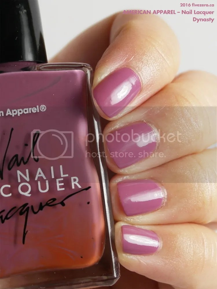 American Apparel Nail Lacquer in Dynasty, swatch
