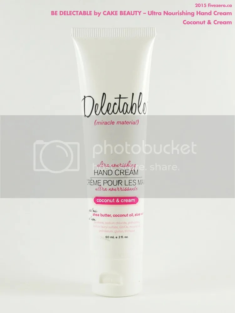 (be) Delectable by Cake Beauty Ultra Nourishing Hand Cream in Coconut & Cream, travel size