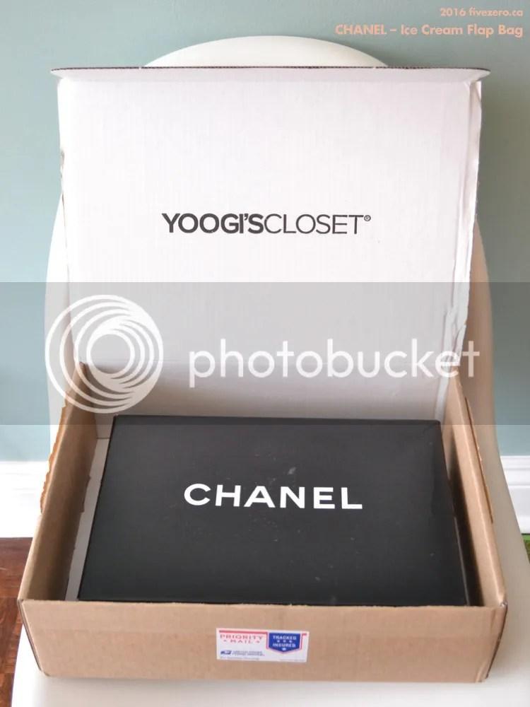 Yoogi's Closet, Chanel box
